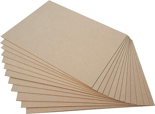 210 X 297 mm DIN A4 10 St/ück MDF Platte 2,5 mm Holzzuschnitt in 21 X 29,7 cm