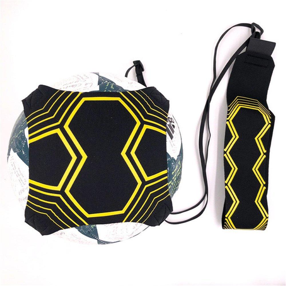 AIYIOUWEI Sports Assistance Adjustable Football Trainer 94Cm Soccer Ball Practice Belt Training Equipment Kick