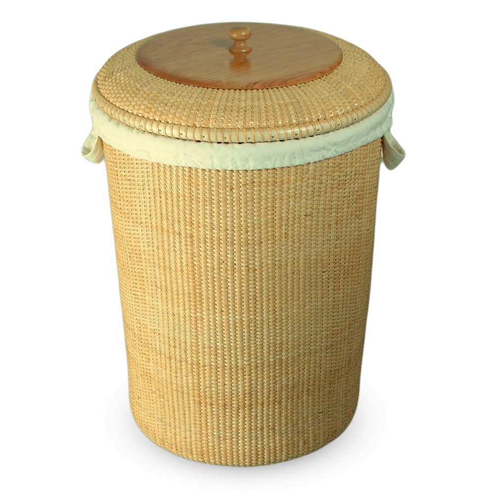 Teng Tian Basket Laundry Basket,Rattan by Teng Tian Basket