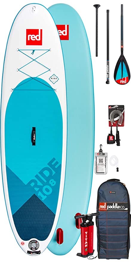 Red Paddle Co Sup Stand Up Paddle Boarding Ride 10;8 Stand ...