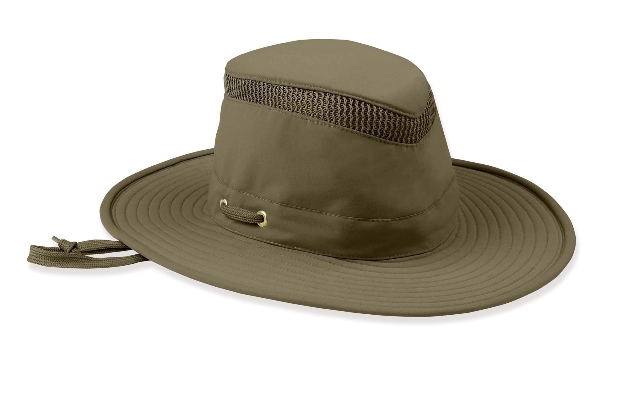 Tilley LTM6 Broader Down-Sloping Brim UPF50+ AirFlo Hat, 7-3/8 or 23-1/8in.