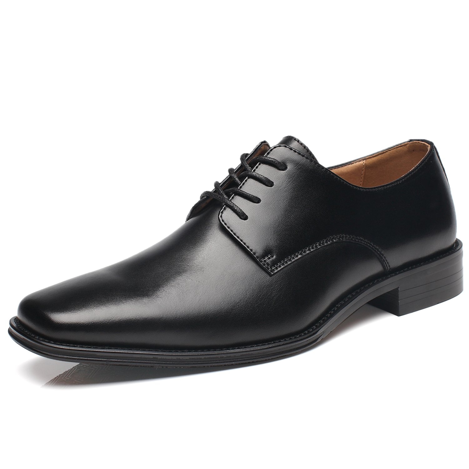 NXT NEW YORK Mens Dress Shoes Geniune Leather Oxford Shoes for Men Zapatos de Hombre Lace up Comfortable Classic Modern Formal Business Shoes