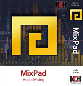 MixPad Multitrack Recording Software for Sound Mixing and Music Production [Mac Online Code]