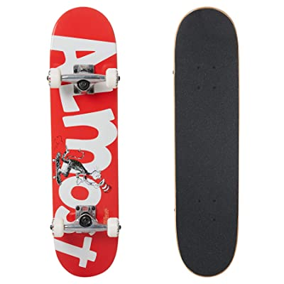 "Almost Skateboard Complete Cat Push Red 7.0"" : Sports & Outdoors"