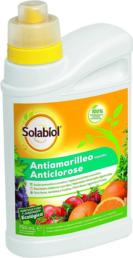 Solabiol - Antiamarilleo liquido 100% organico para Flores ...