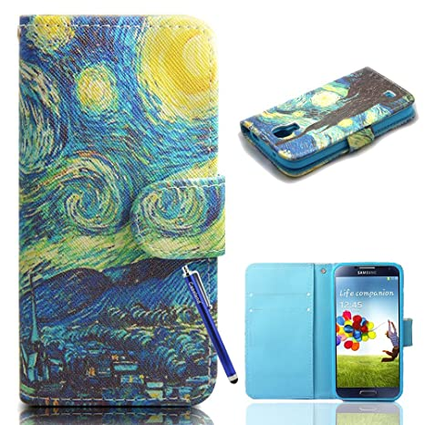 Amazon.com: Galaxy S4 Caso, por caseland Galaxy S4 Wallet ...