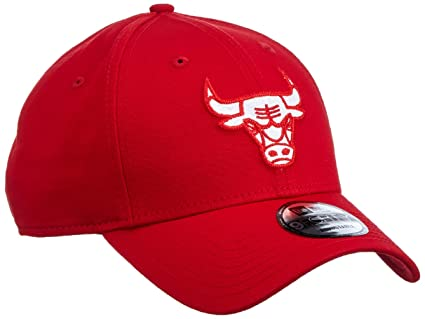 A NEW ERA Era Felt Infill 940 Chibul Scawhi Gorra Chicago Bulls, Hombre, Rojo, OSFQ