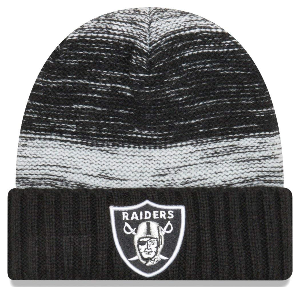 New Era NFLチームSnug Cuffニット One Size Oakland Raiders B06VVW4WRW