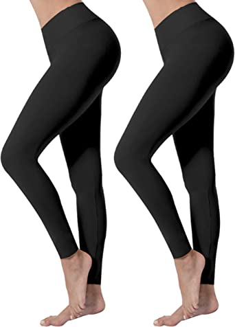 Women Solid YOGA GYM Full Length Leggings Stretch Slim Skinny Pants Long Onesize