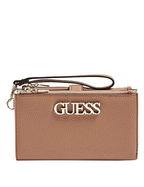 Guess Uptown Chic SLG Double Zip Organizer Tan: Amazon.es ...