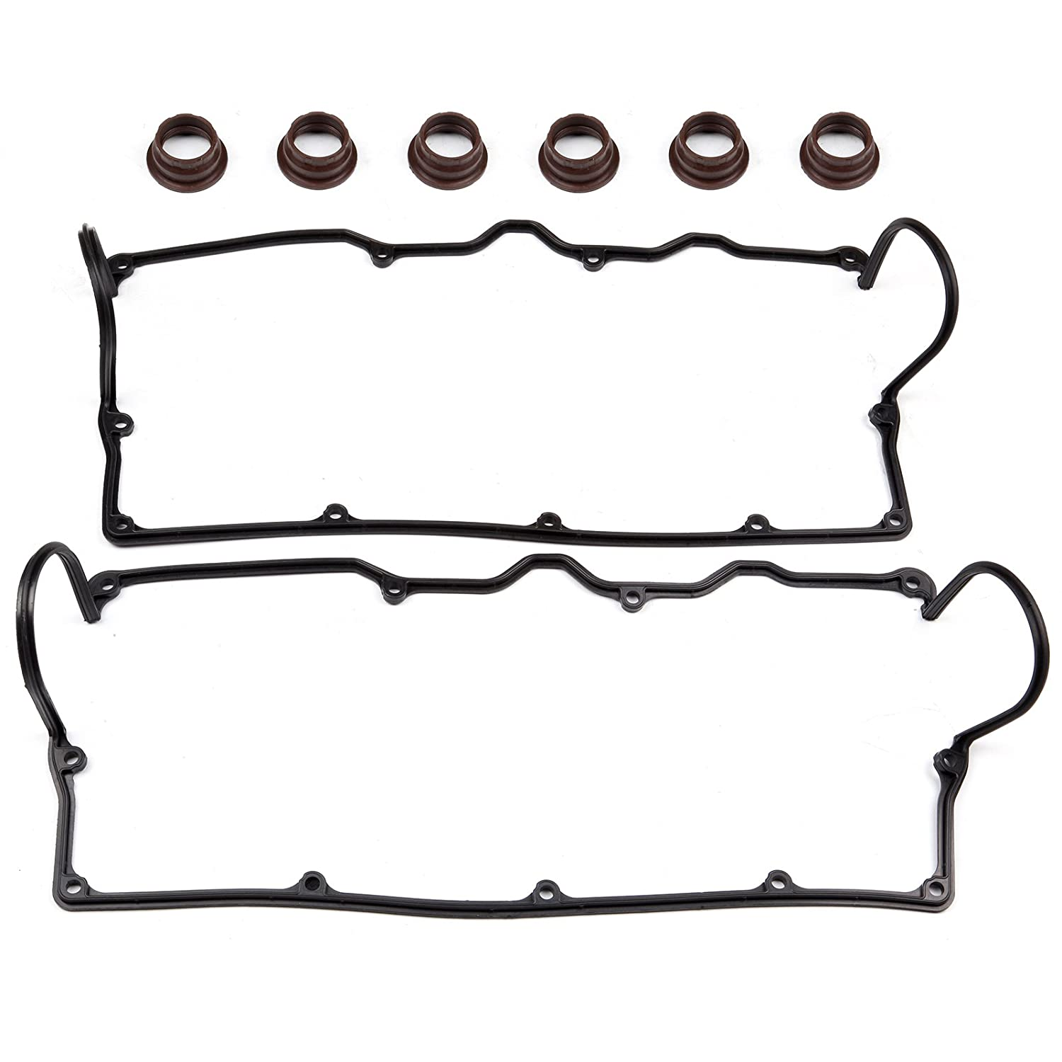 6VD1 SCITOO Valve Cover Gasket fit 1994-1997 Honda Passport 1992-1997 Isuzu Trooper 3.2L SOHC Eng