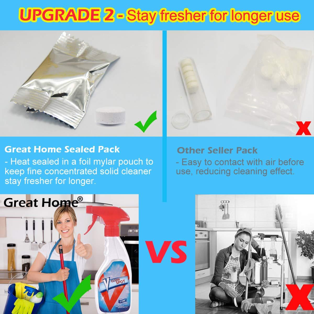 Amazon.com: Effervescent - Juego de limpiador de spray con ...