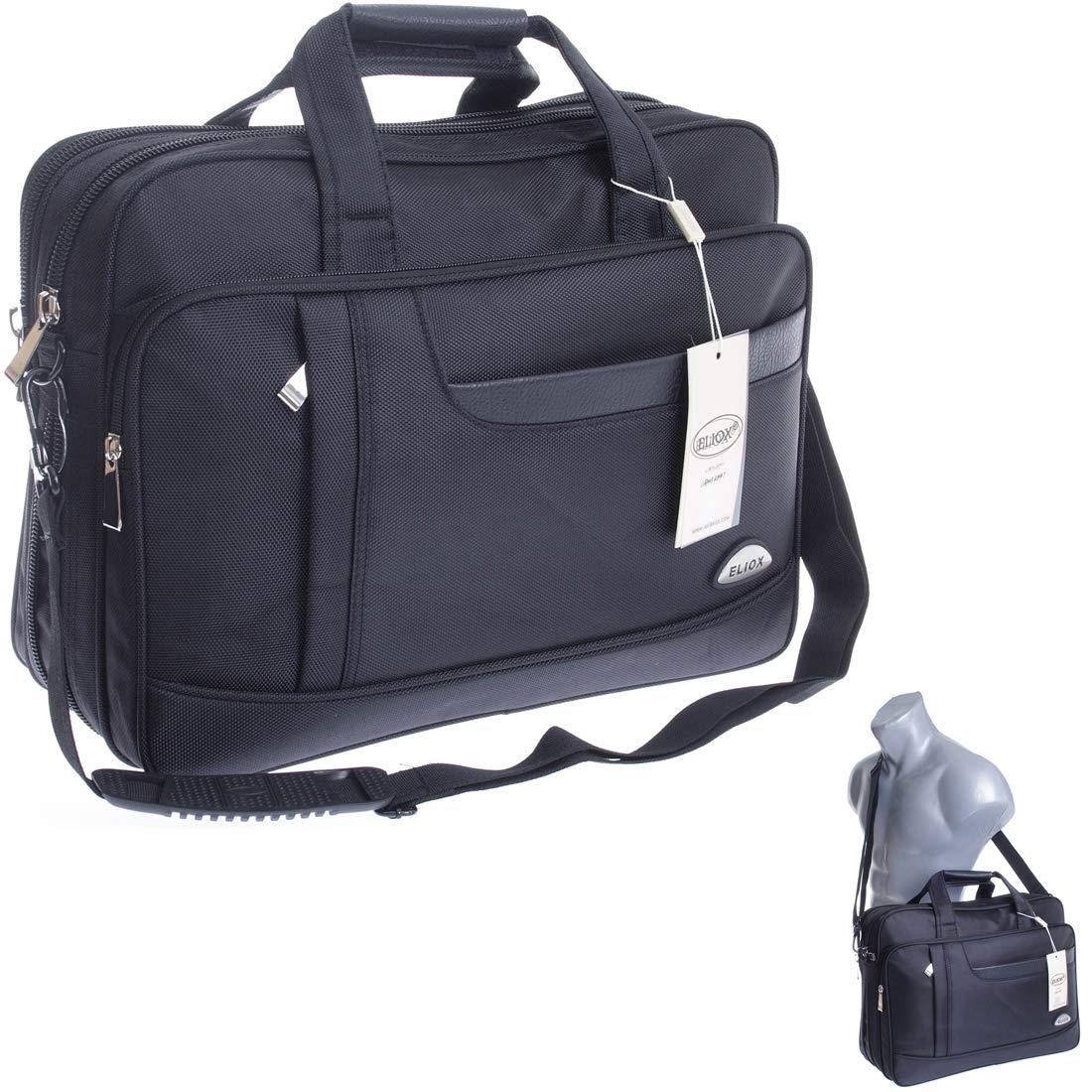 XXL Businesstasche Raumwunder Arbeitstasche Herrentasche Flugbegleiter Umhä ngetasche Schultertasche Messenger (Modell 2)