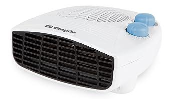 Orbegozo FH 5127 Calefactor eléctrico, 1000 W, 2 Velocidades, Negro, Blanco