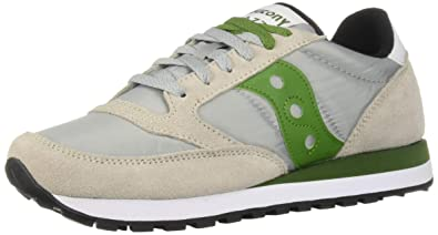 d77d0e0828 Amazon.com | Saucony Originals Men's Jazz Original Sneaker, Grey ...