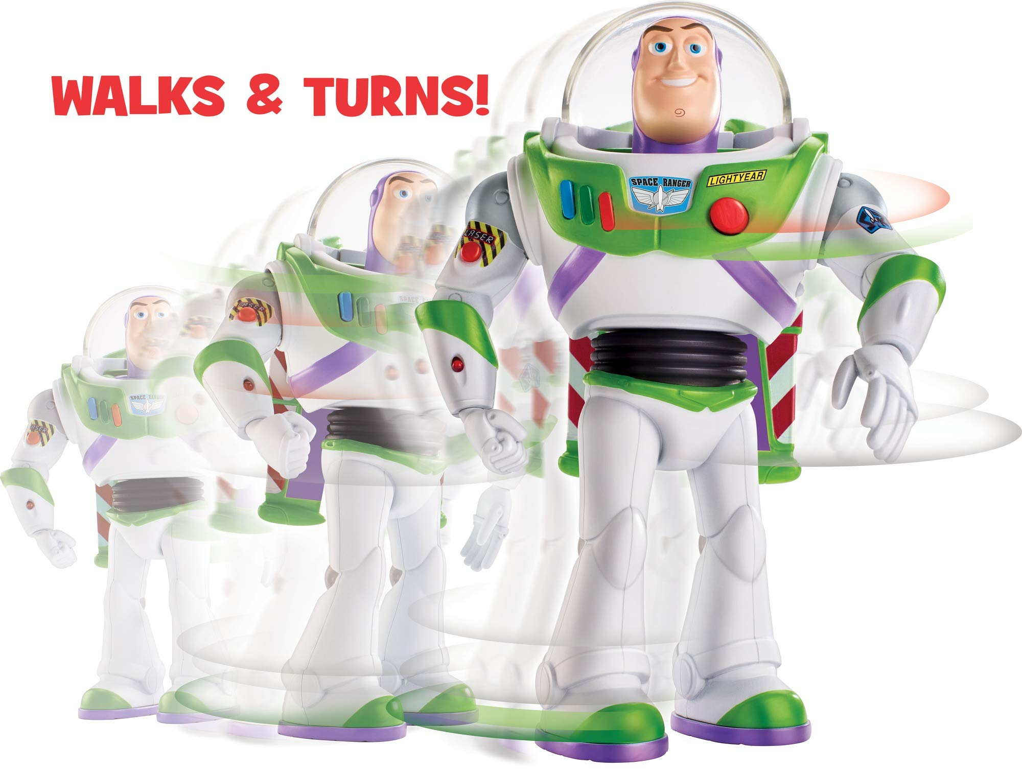 Disney Pixar Toy Story Ultimate Walking Buzz Lightyear, 7'' by Toy Story (Image #5)