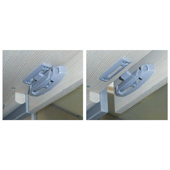 W4 Küchenschranktür Aufhalter/Schließen (Einheitsgröße) (Hellgrau ...