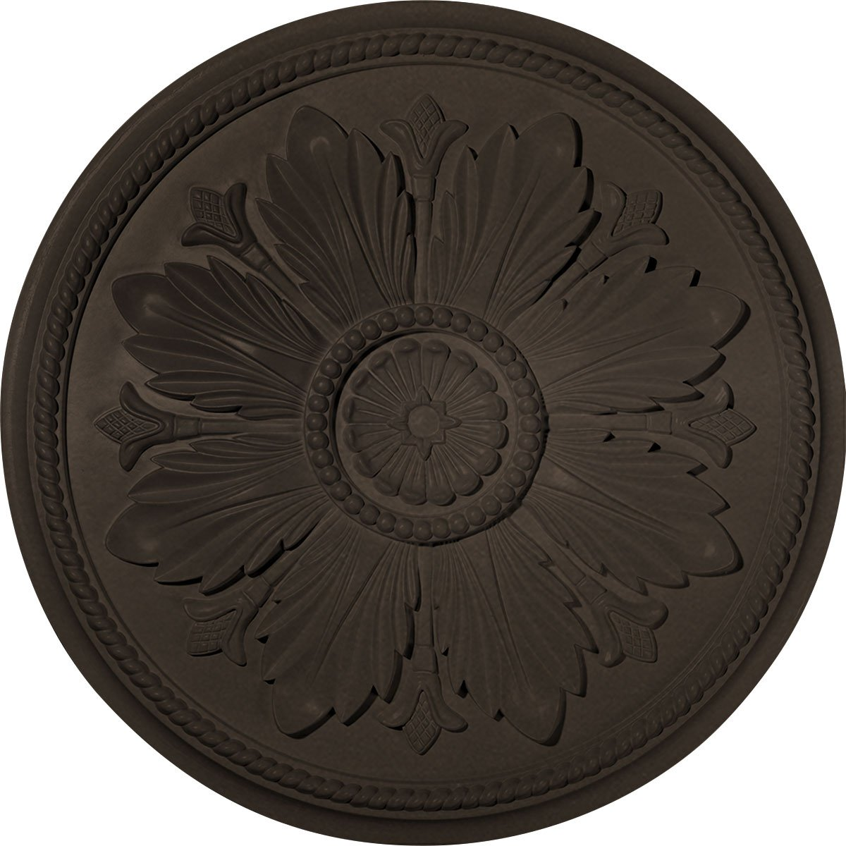 Ekena Millwork CM23KABZS Ceiling Medallion, Bronze