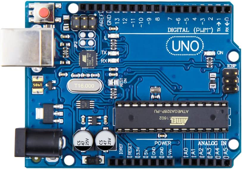 COVVY UNO R3 ATmega328P Development Board Atmega16U2 Board Module with USB Cable for Arduino DIY RC Toy Kit Electronics Develop Learning Part