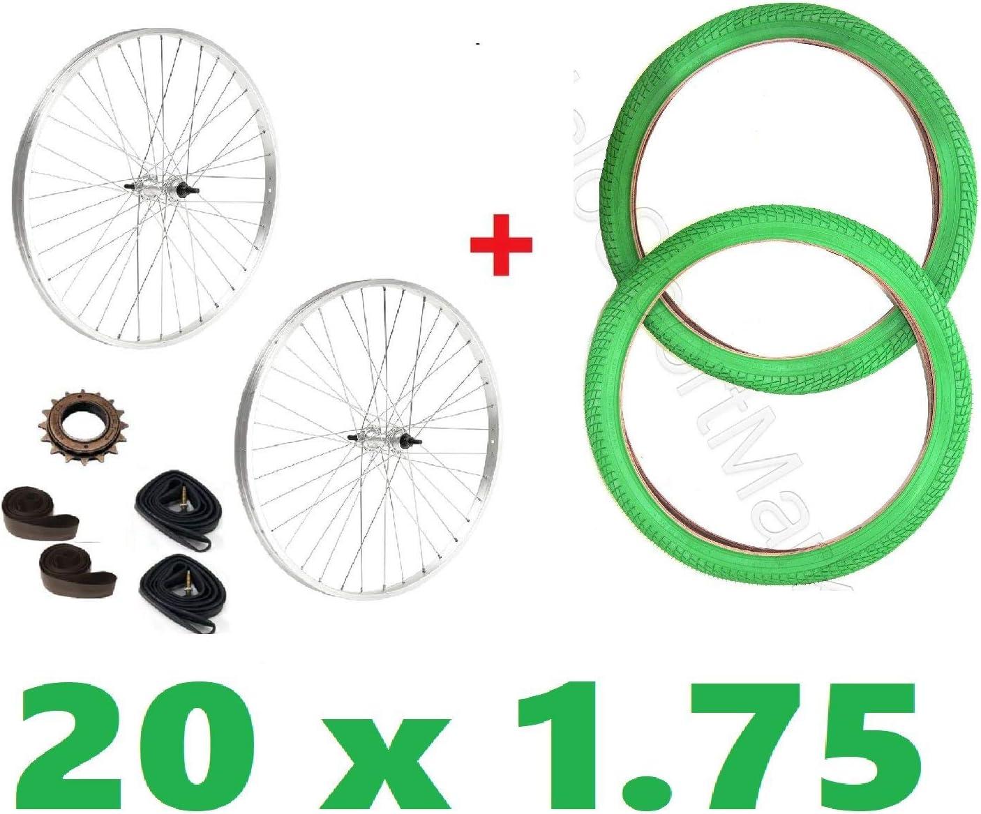 Ciclosportmarket//Pareja Ruedas Bici 20