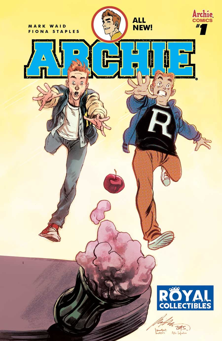 Archie Comics #1 Royal Collectibles Store Exclusive Variant Cover Rafael Albuquerque