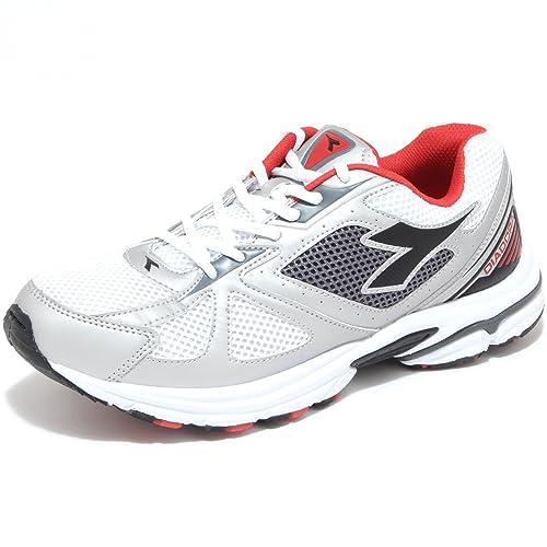 Diadora - Zapatillas de voleibol de Material Sintético para hombre Varios Colores C0351 BIANCO/NERO 44: Amazon.es: Zapatos y complementos