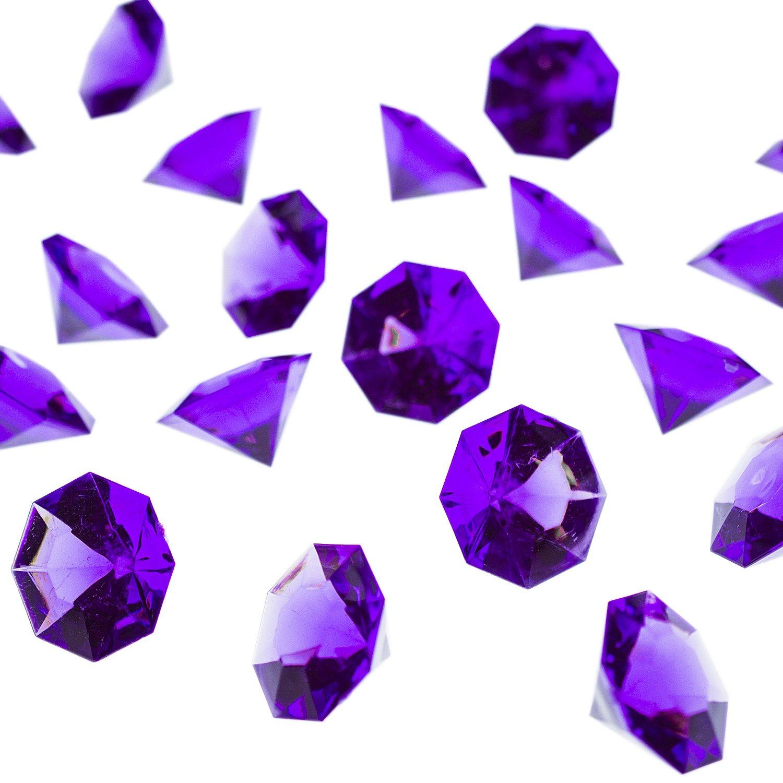 Amazon.com: PaperLanternStore.com Teal Colored Gemstones ...