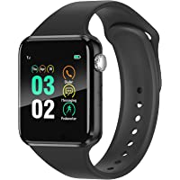Smart Watch Compatible iOS iPhone Android Samsung,WJPILIS Bluetooth Smart Watch…