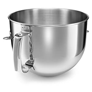 KitchenAid KA7QBOWL Stainless Steel Mixing Bowl for 7 Quart Bowl-Lift Stand Mixer