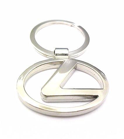 Lexus Llavero Logo de coche de metal llavero llavero: Amazon ...