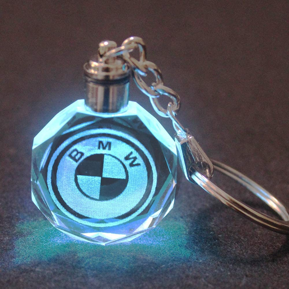 Purple Car LED Key Light Keyring Lovely Birthday Christmas Gift Idea