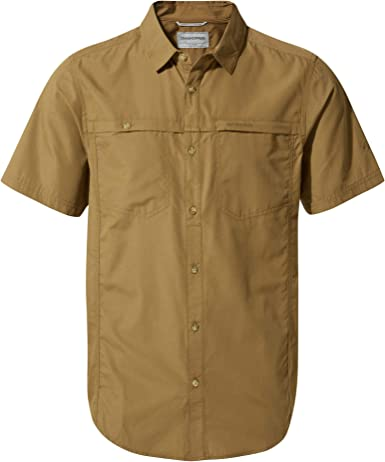 Craghoppers Kiwi Trek Short Sleeve Camisa, Hombre: Amazon.es: Ropa y accesorios