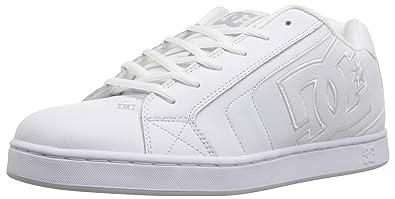 Mens DC Net SE Skate Shoe, White/White, 10 D D US