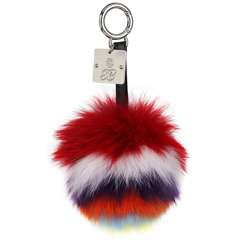 fur keychains (Multi-color)