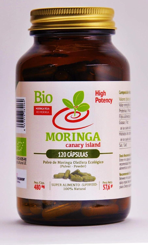 MORINGA CANARY ISLAND - Súper Alimento de Moringa 100 ...
