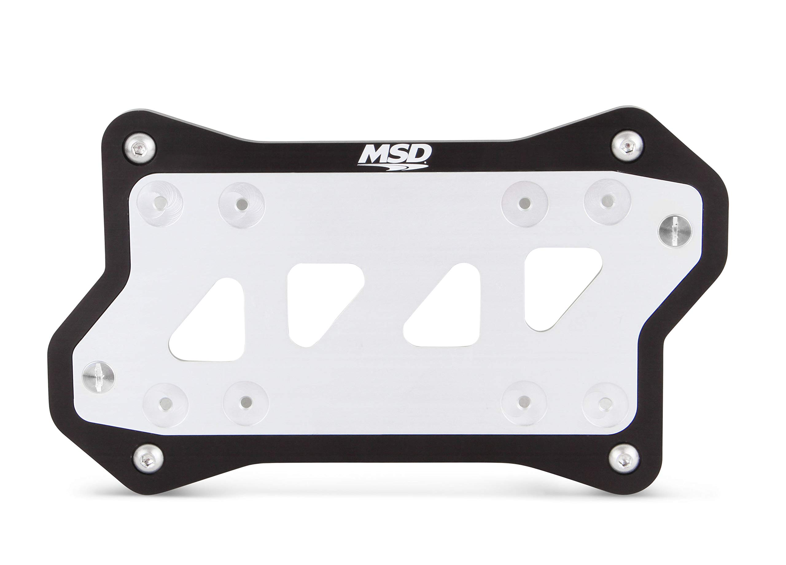 MSD Ignition 82182 Remote Mount Ignition Box Bracket For MSD 6 7 and 8 Series Ig
