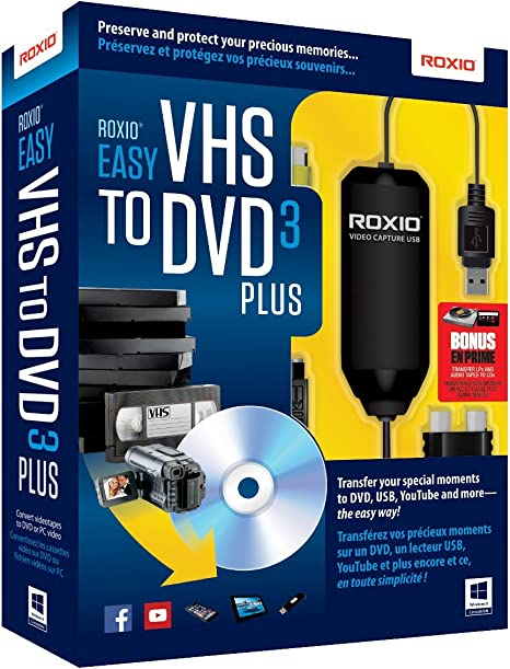 Roxio Easy Vhs To Dvd 3 Plus Video Converter For Pc Old Version Software