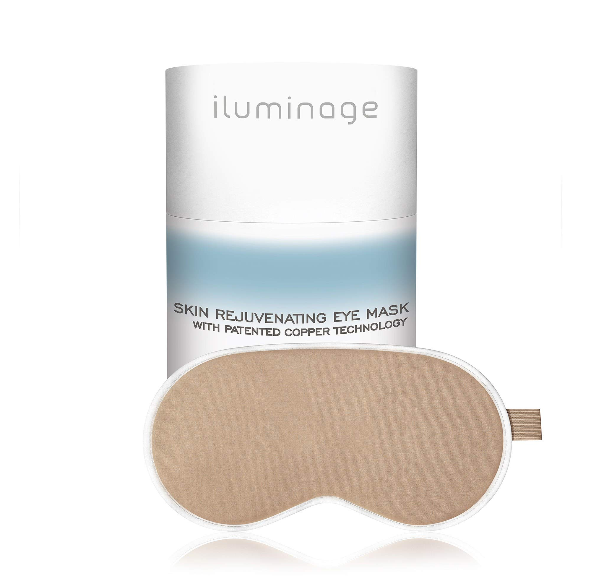 Iluminage. Skin Rejuvenating Eye Mask for Fine Lines Reduction with Anti-Aging Copper Technology