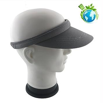 26cf6256432 FUCNEN Sun Visor Hat Sports Cap Visors Top Headwear Sweatband Sturdy  Construction Cotton for Golf Tennis