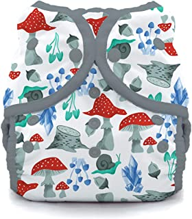 product image for Thirsties Duo Wrap Cloth Diaper Cover, Snap Closure, Forest Frolic Size Two (18-40 lbs)