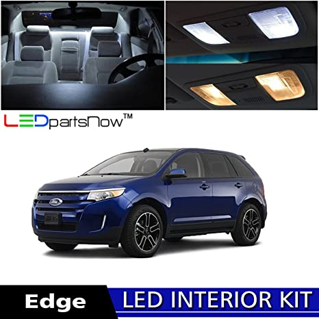 Ledpartsnow   Ford Edge Led Interior Lights Accessories Replacement Package Kit  Pieces