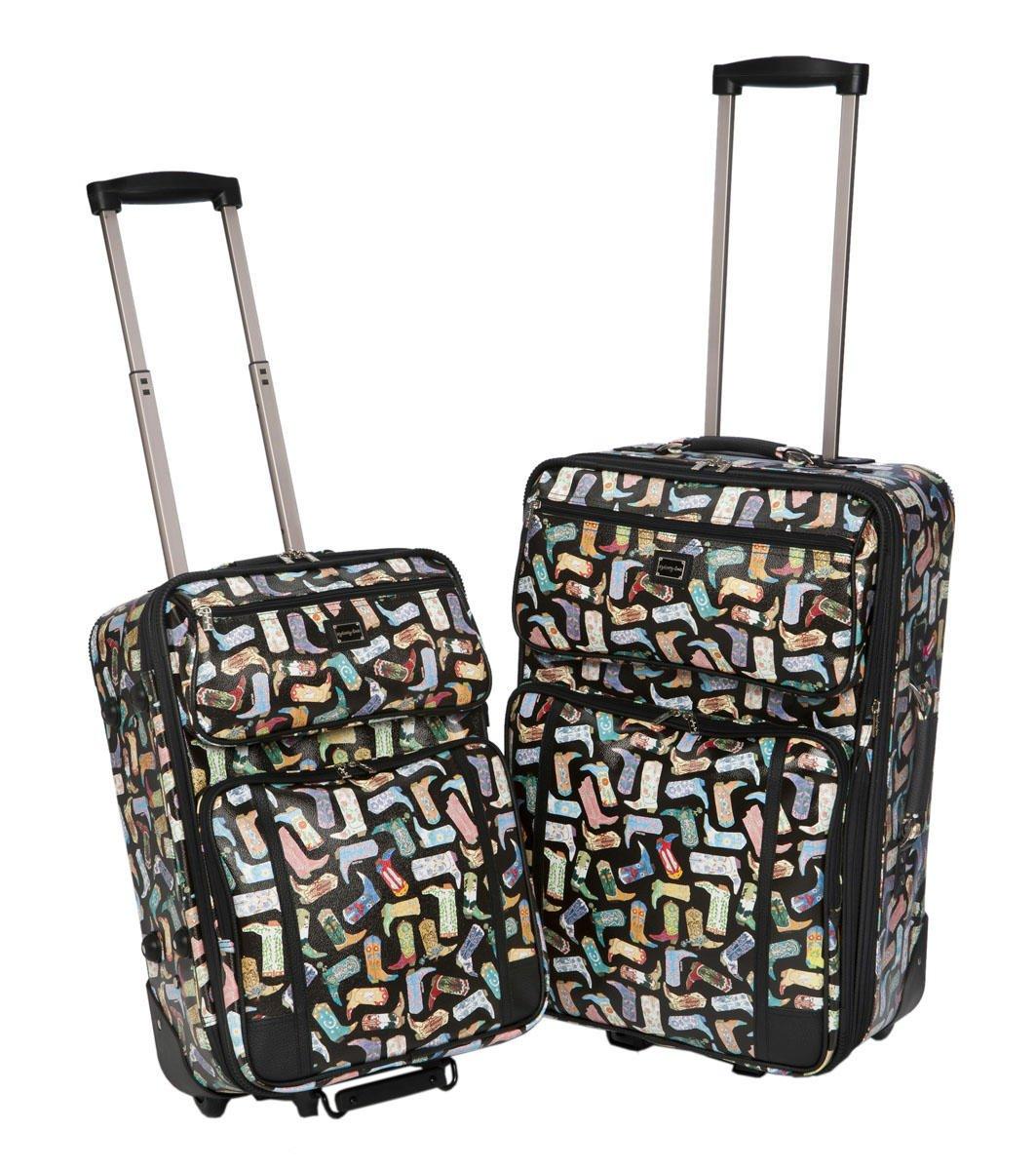 Sydney Love Kickin' It 2 Piece Luggage Set 12785 Weekender,Multi,One Size