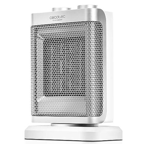 Cecotec Calefactor cerámico con oscilación 1500 W, 3 modos, termostato regulable, sensor antivuelco