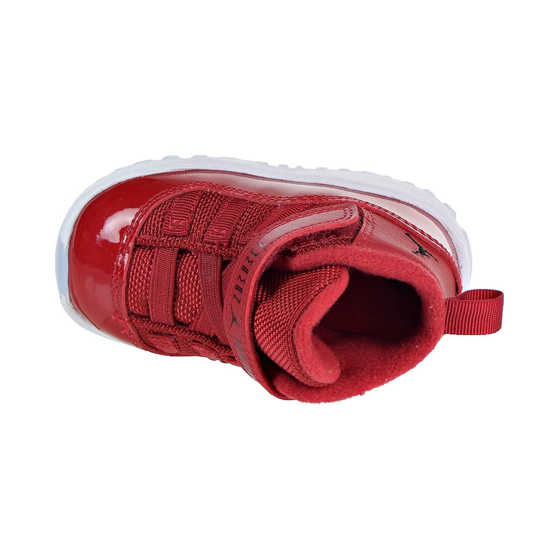32a4144f1d NIKE 378040-623 Kids Toddler 11 Retro BT Jordan Gym Red Black White: Amazon. co.uk: Shoes & Bags