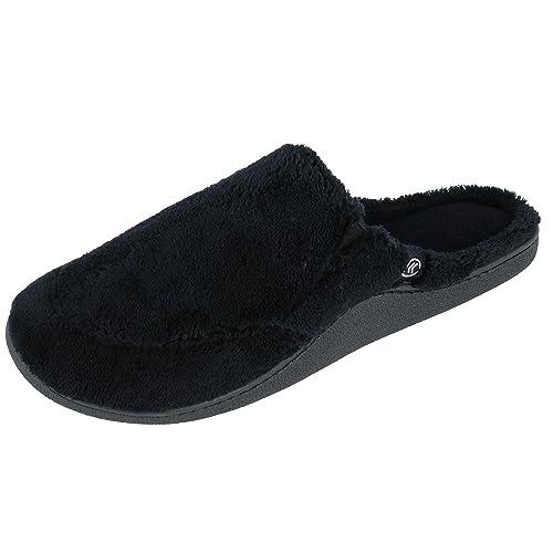 dd9d3ebb766a Isotoner Men s Microterry Clog Slippers  Amazon.ca  Shoes   Handbags