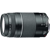 Canon EF 75-300mm f/4-5.6 III Telephoto Zoom SLR Cameras Lens