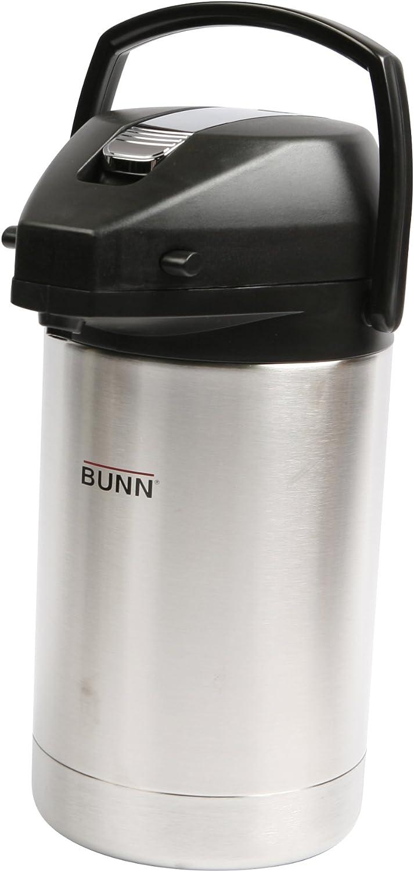 Bunn 32125.0000 2.5 Liter Stainless Steel Airpot