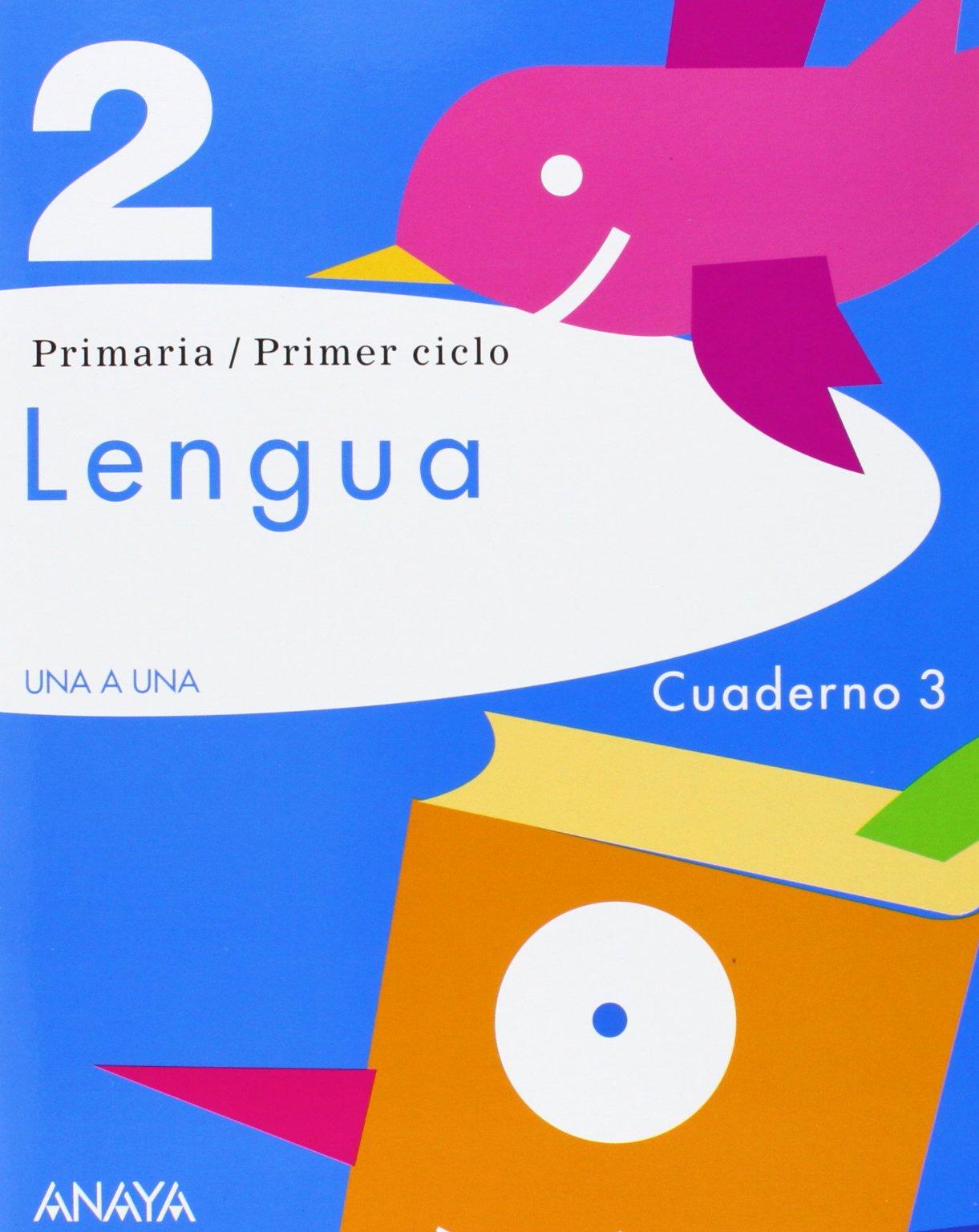 Lengua 2. Cuaderno 3. (Spanish) Paperback