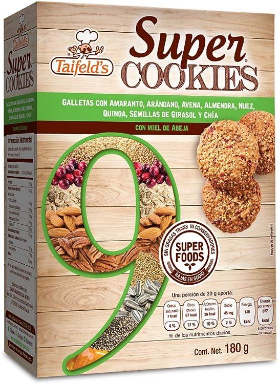Super cookies with 9 super foods
