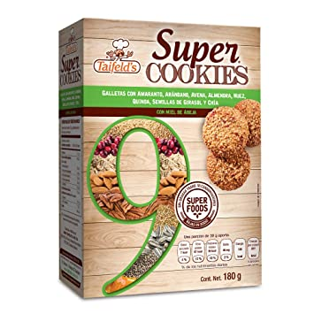 Amazon.com: Taifelds Super Cookies with 9 Super Foods ...